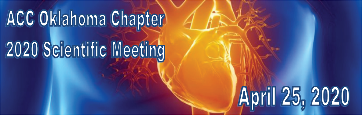 American College of Cardiology Oklahoma Chapter 2020 Annual Scientific Meeting Banner