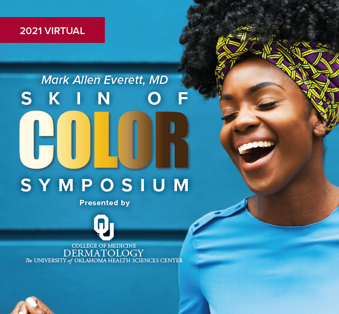 Mark Allen Everett, MD, Skin of Color Symposium, Course #21004 Banner