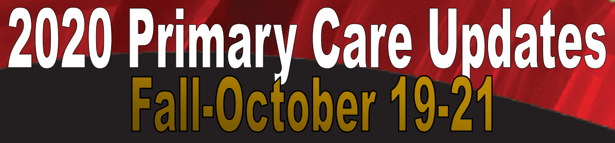 23rd Fall Primary Care Update Banner