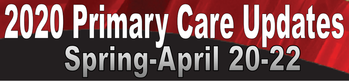 22nd Spring Primary Care Update Banner
